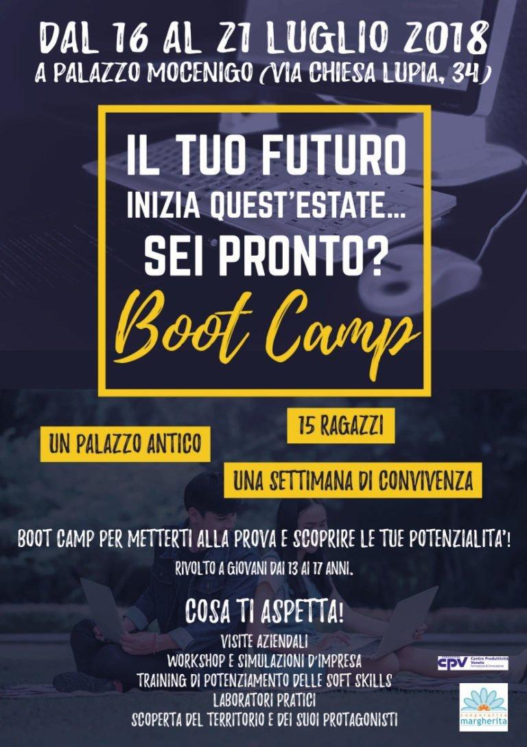 Boot Camp per ragazzi dai 13 ai 17! Per acquisire nuove competenze e scoprire il mondo del lavoro in modo pratico e divertente!