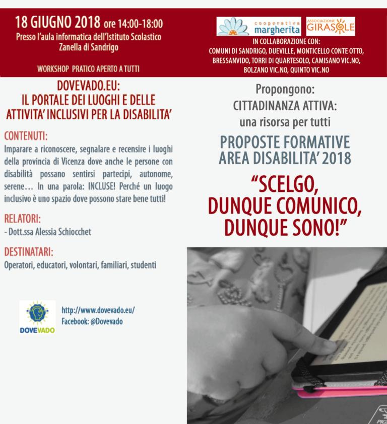 Workshop su Dovevado.eu: il portale dei luoghi inclusivi