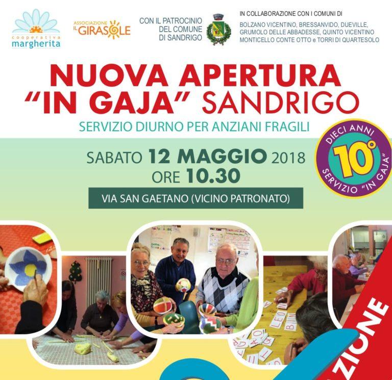 """Inaugurazione """"In Gaja"""" Sandrigo - 12 Maggio 2018"""